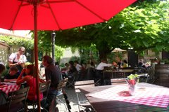 Local Restaurant - Beer Garden